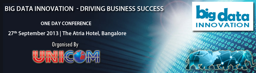 Big Data Innovation – Driving Business Success – Conference in Bangalore